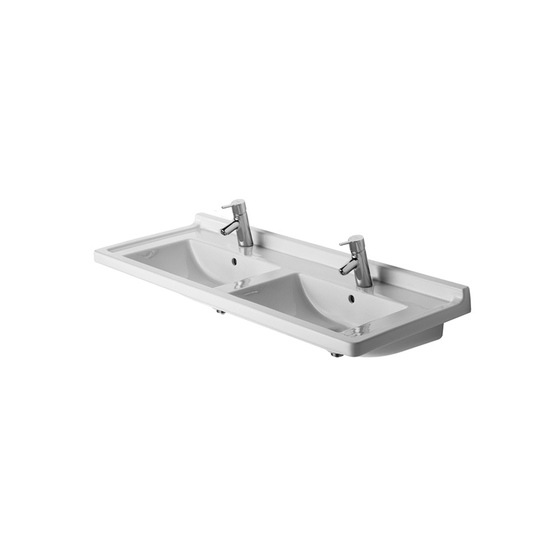 Starck 3 - Double washbasin by DURAVIT | Wash basins