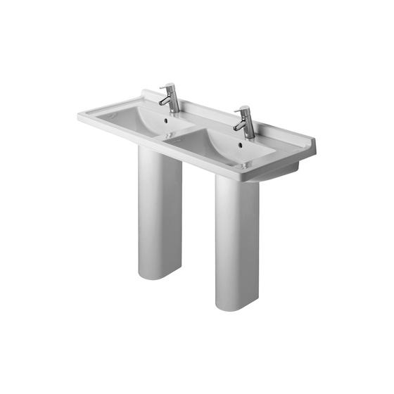 Starck 3 - Pedestal by DURAVIT | Wash basins