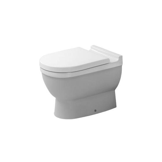 Starck 3 - Toilet, floor-standing by DURAVIT | Toilets