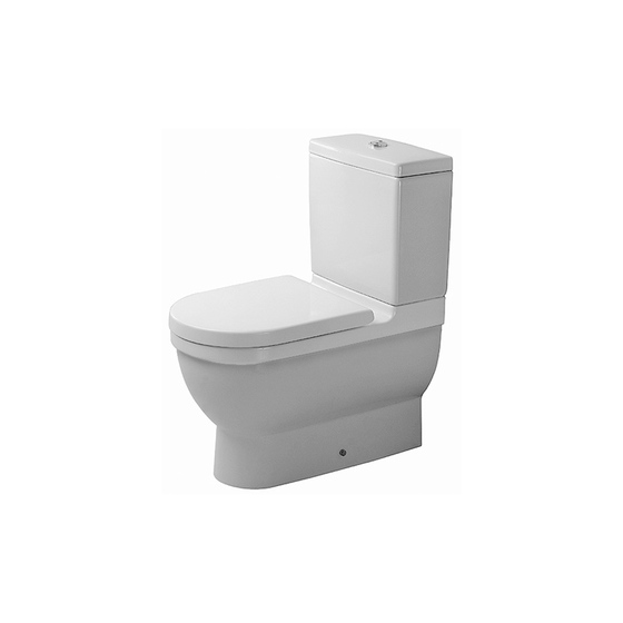 Starck 3 - Toilet, close-coupled by DURAVIT | Toilets
