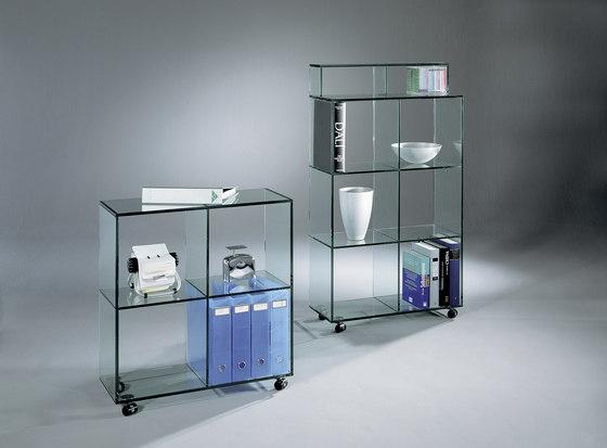Bookline BL 22 FL k + BL 23 FL k di Dreieck Design | Vetrine / Vetrinette