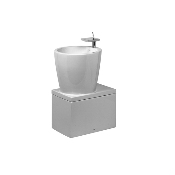Starck X - Washbasin by DURAVIT | Vanity units
