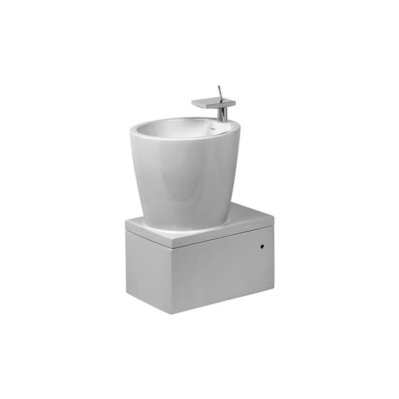 Starck X - Washbasin by DURAVIT | Vanity units