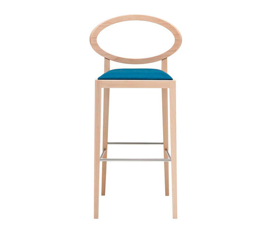 Zarina BQ 1721 by Andreu World | Bar stools