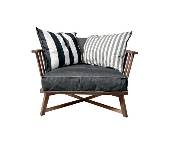 Gray 07 di Gervasoni | Poltrone lounge
