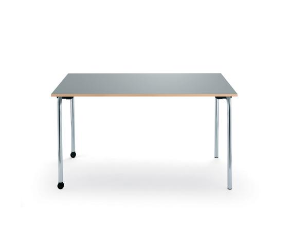 tisch mit rollen h henverstellbarer tisch loft eckig mit. Black Bedroom Furniture Sets. Home Design Ideas