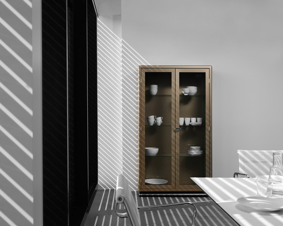 Classic Line SB 424 Glass cabinet by Müller Möbelfabrikation | Display cabinets