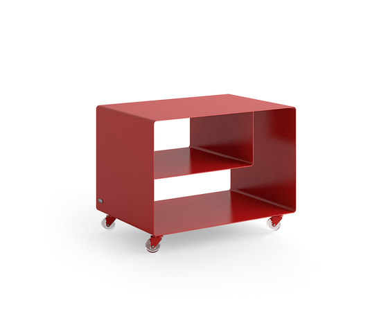 Mobile Line R 106N Trolley by Müller Möbelfabrikation   Side tables