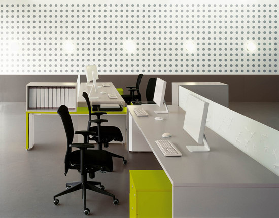 Tre Collection by Fantoni | Desking systems