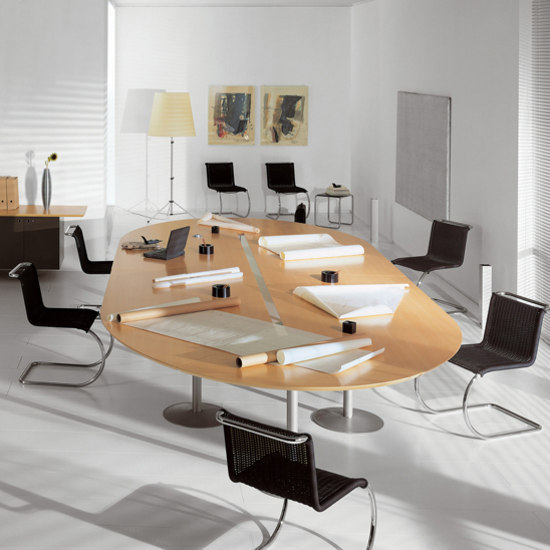 Meta Life System by Fantoni | Conference table systems