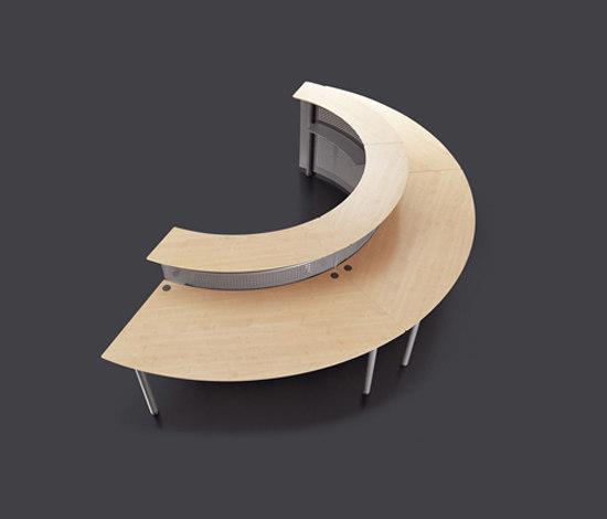 Meta Reception by Fantoni | Reception desks
