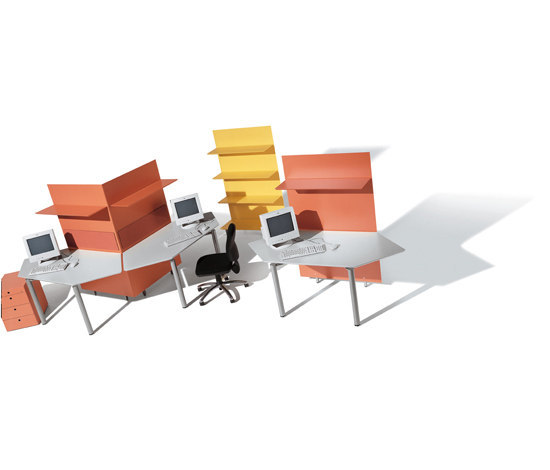 Meta Units by Fantoni | Desking systems