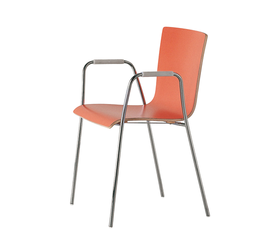 45 hospitality by Fantoni | Multipurpose chairs