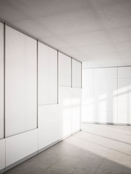 Stillwall System by Fantoni | Wood panels