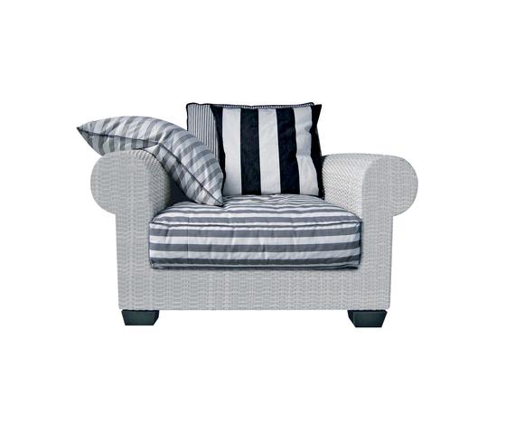 InOut 301 by Gervasoni | Garden armchairs