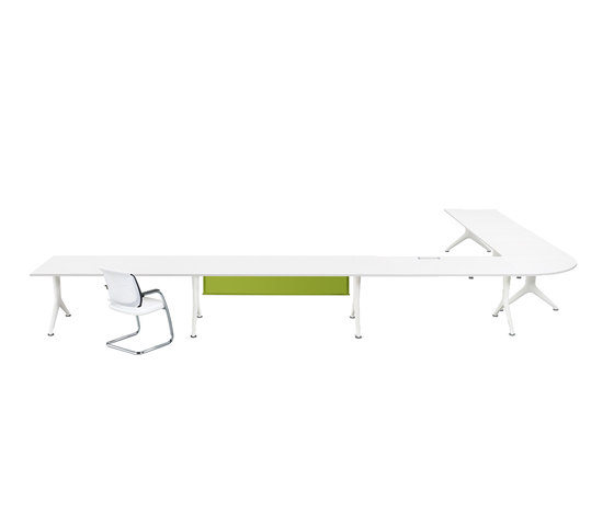 four connects by Sedus Stoll | Seminar table systems