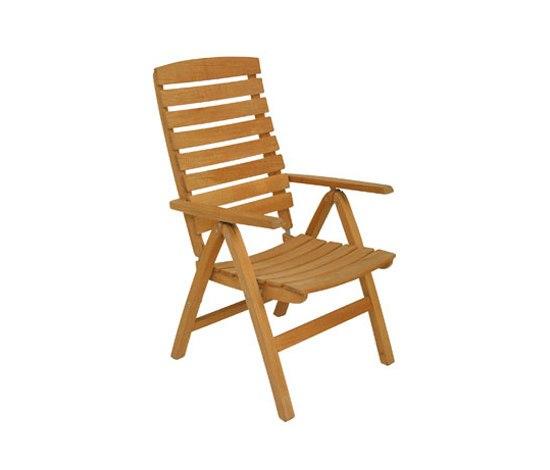 Bali armchair* de Fischer Möbel | Sièges de jardin