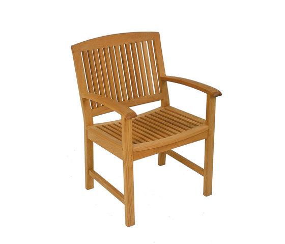 Burma armchair by Fischer Möbel   Garden chairs