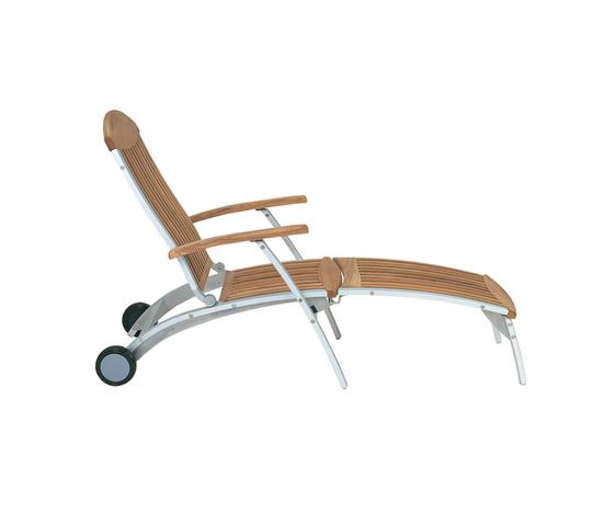 Centro steamer chair* de Fischer Möbel | Méridiennes de jardin
