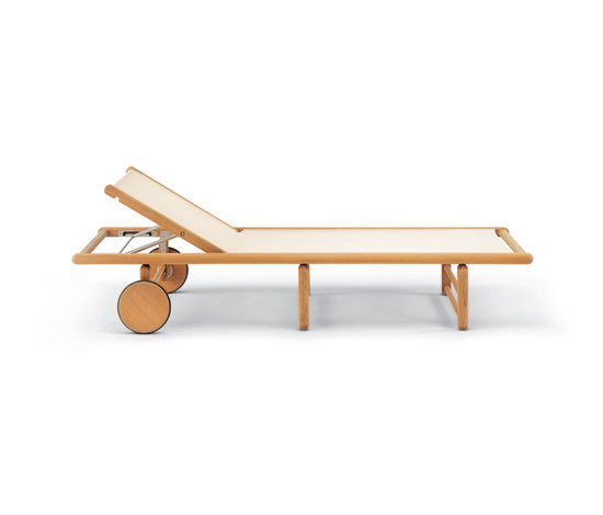 Tennis sunbed by Fischer Möbel | Sun loungers