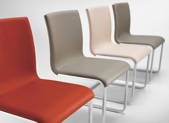 LYNN Chair by Girsberger | Visitors chairs / Side chairs