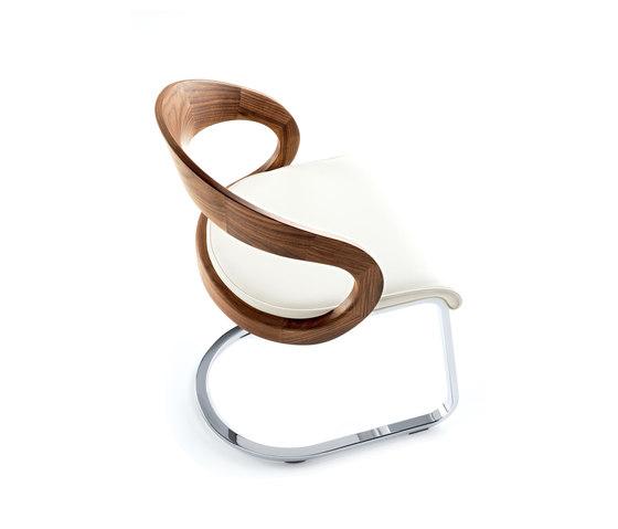 girado cantilever chair by TEAM 7   Chairs