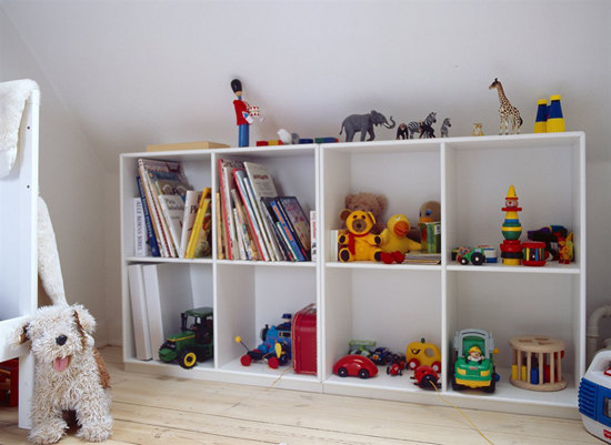 Montana Shelving system by Montana Furniture | Children's area