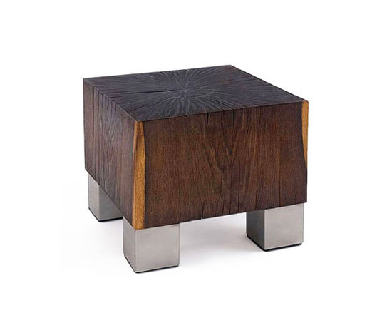 cube fumé by woodloops | Coffee tables