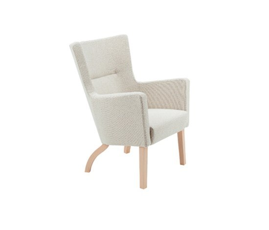 Solino easy chair low back by Swedese | Armchairs