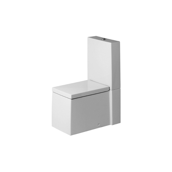 Starck X - Toilet close-coupled by DURAVIT | Toilets