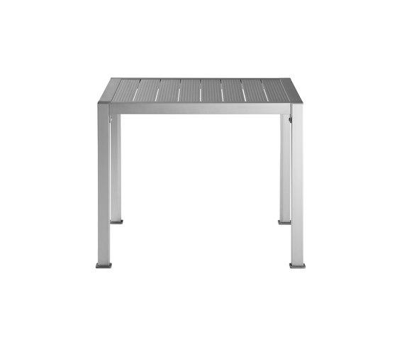 Thali Aluminium de Driade | Tables à manger de jardin