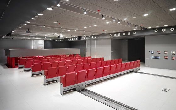 Automatic Mutaflex 6066 de FIGUERAS | Movable seating systems