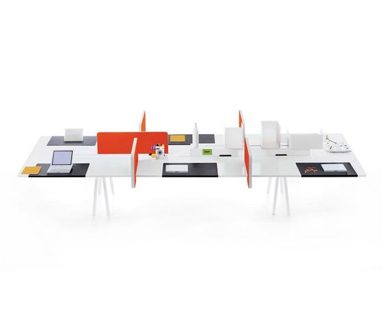 Joyn Bench di Vitra | Sistemi tavolo