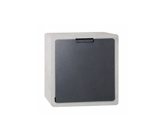Concret CQ letterbox by Serafini | Mailboxes