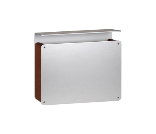 Teak Top  letterbox by Serafini | Mailboxes