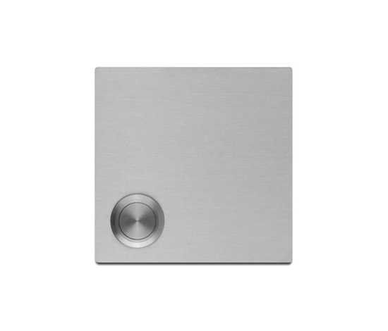 Doorbell panel | stainless steel by Serafini | Door buzzers