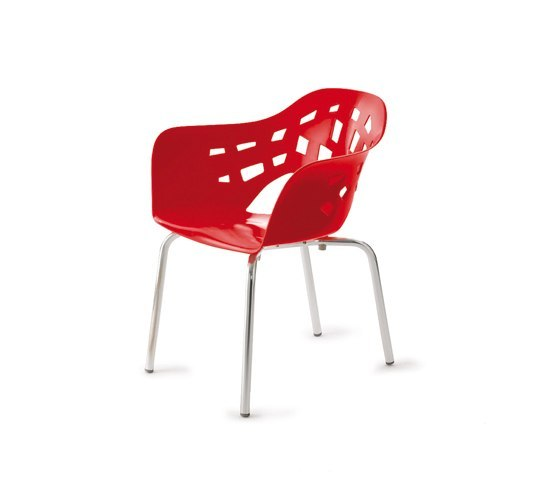 Miralook Aluminium Armchair by Amat-3 | Multipurpose chairs
