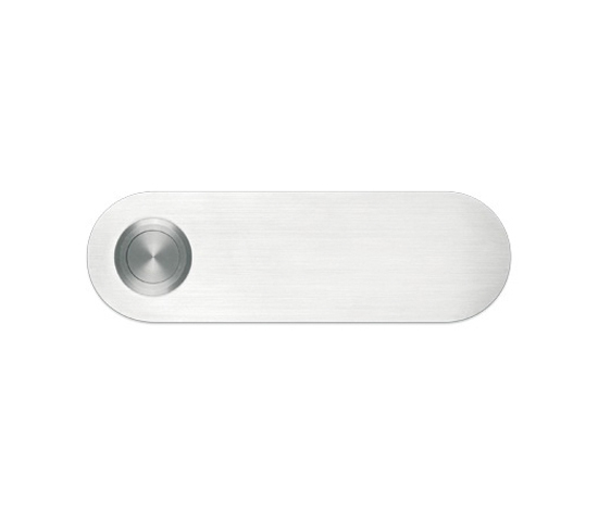 Doorbell panel aluminium by Serafini | Door buzzers