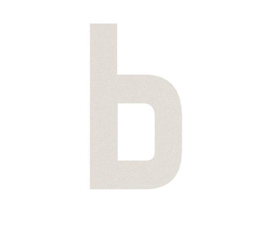 Hausnummern Aluminium von Serafini | Hausnummern / Buchstaben