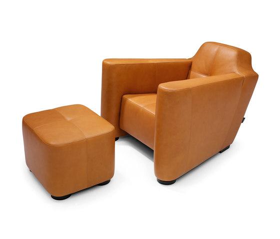 Alhambra armchair/footstool de Linteloo | Fauteuils d'attente