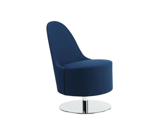 Open swivel chair by Swedese | Lounge chairs