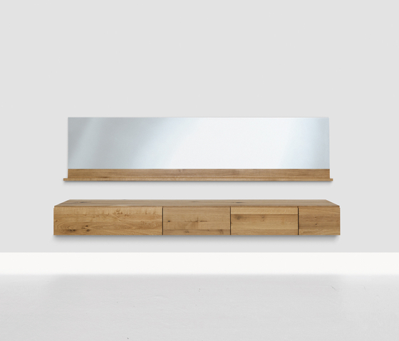 Podest Long by Zeitraum | Wall shelves