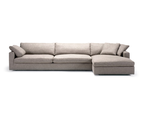 Fabio sofa chaise longue modular sofa systems from for Sofa 1 plaza chaise longue