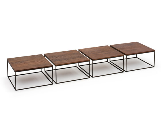Log coffee table di Linteloo | Tavolini di servizio