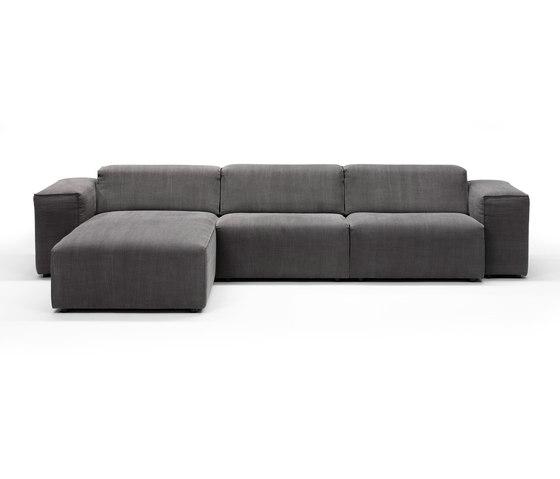 Matu sofa/chaise longue de Linteloo | Canapés modulaires