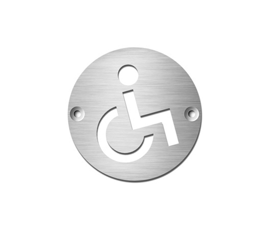 Disabled by Serafini | Room signs