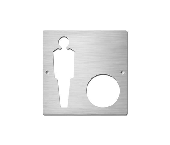 Gentlemen+ by Serafini | Toilet signs