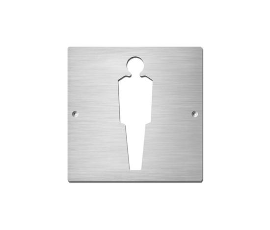 Gentlemen* by Serafini | Toilet signs