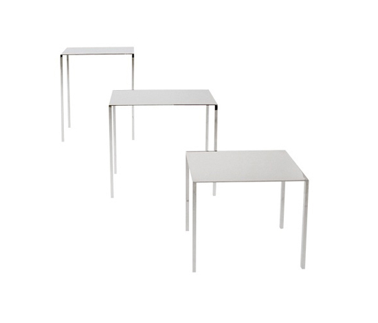 Table | Skinny | rectangular by Serafini | Side tables