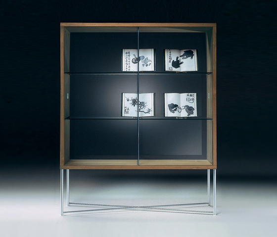 Moka cabinet by Flexform | Display cabinets